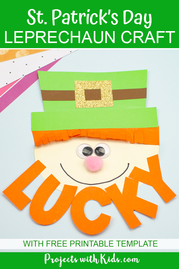 Leprechaun craft for kids to make