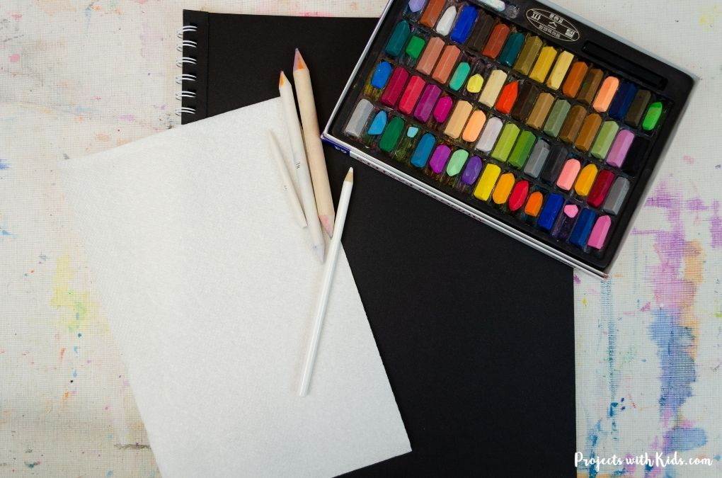 Chalk pastel supplies