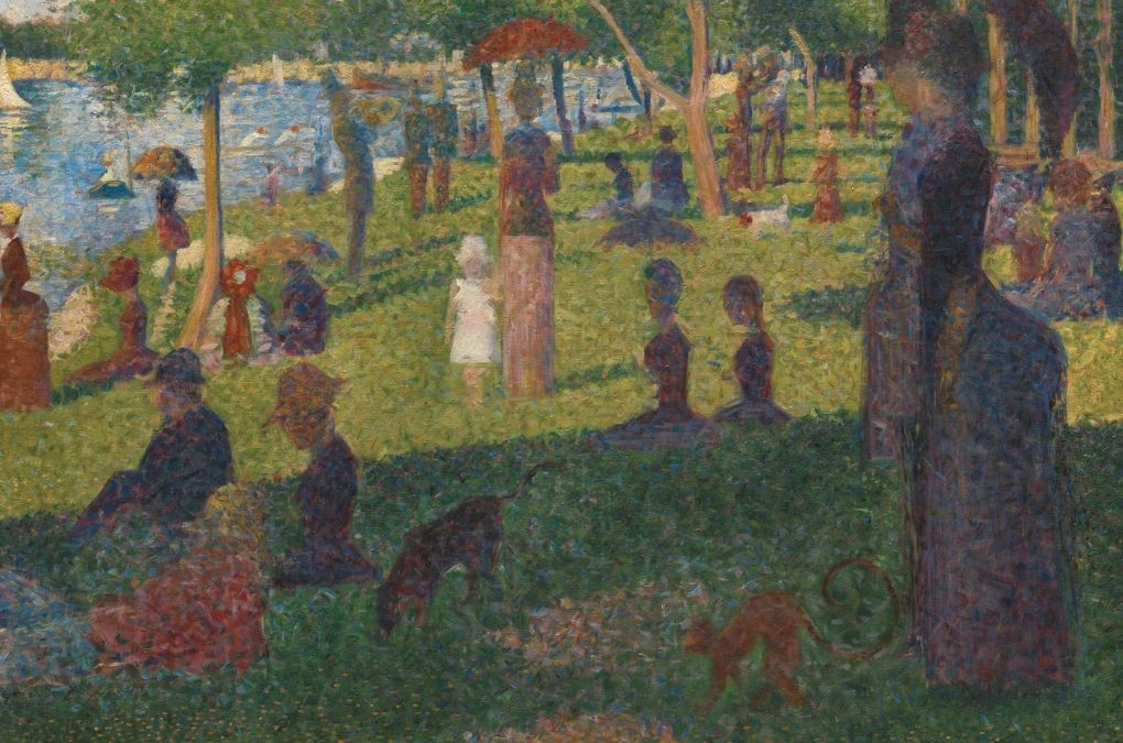 Georges Seurat painting example