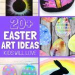 Easter art ideas for kids