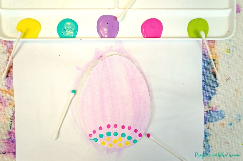 Easter egg painting idea