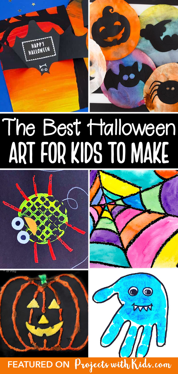 Halloween art for kids of all ages