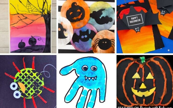 Halloween art for kids to make